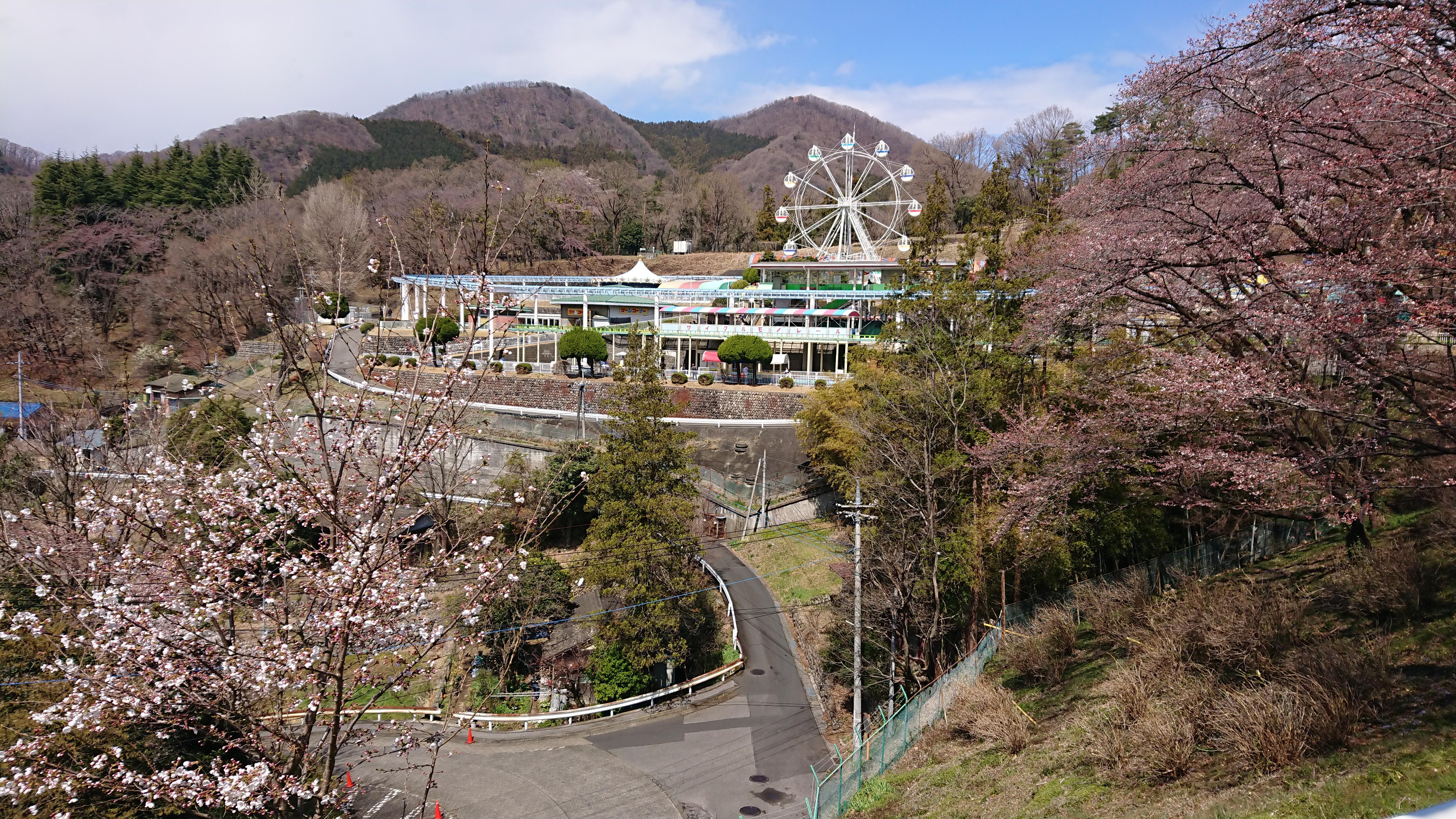 桐生ヶ丘から見下ろす風景