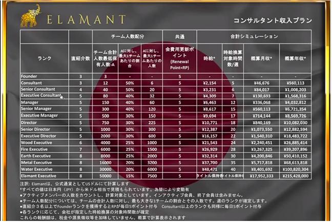 エラマントのコンサル報酬額